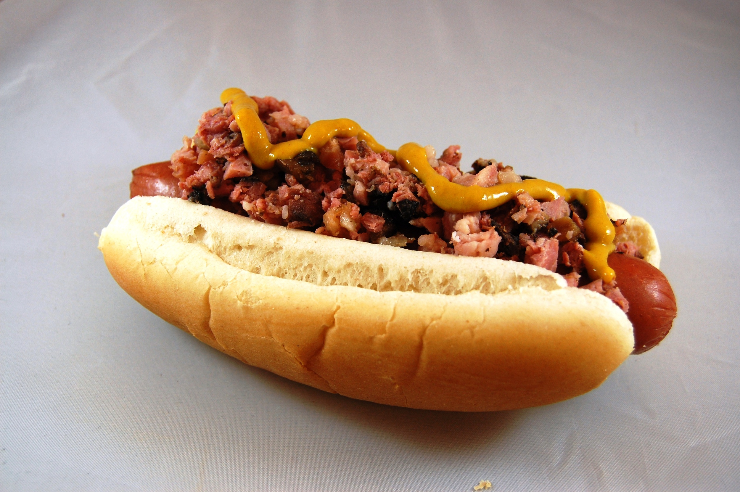 Pastrami hot dog available at Citi Field