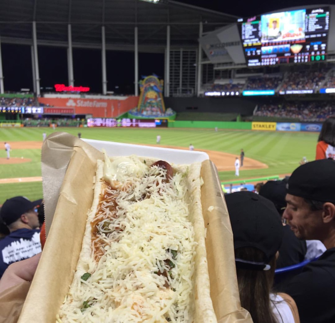 The Miami Mex Dog available for $11.25 (Kbonk28/Instagram)