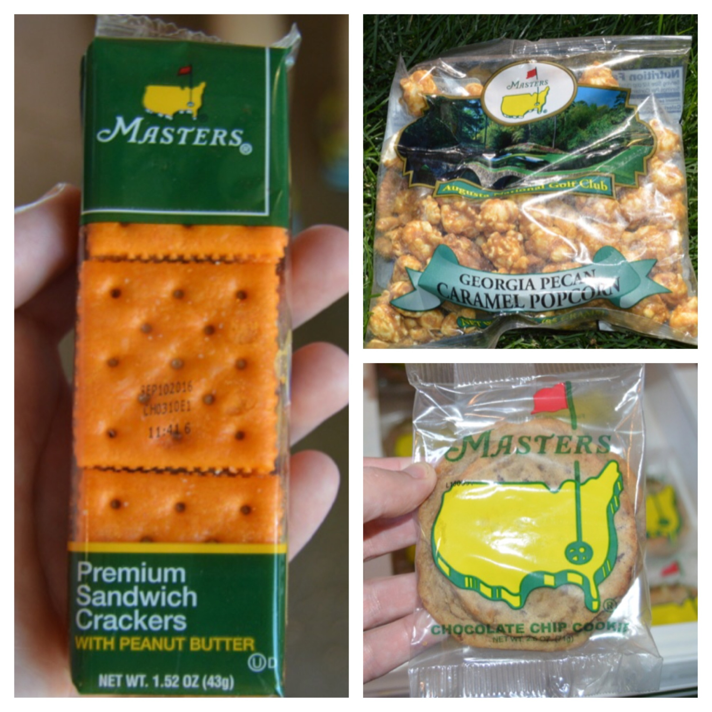 You will only ever see one logo on the food at Augusta.