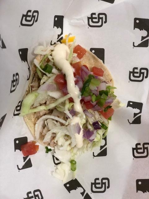 San Diego Padres Mahi Mahi Taco