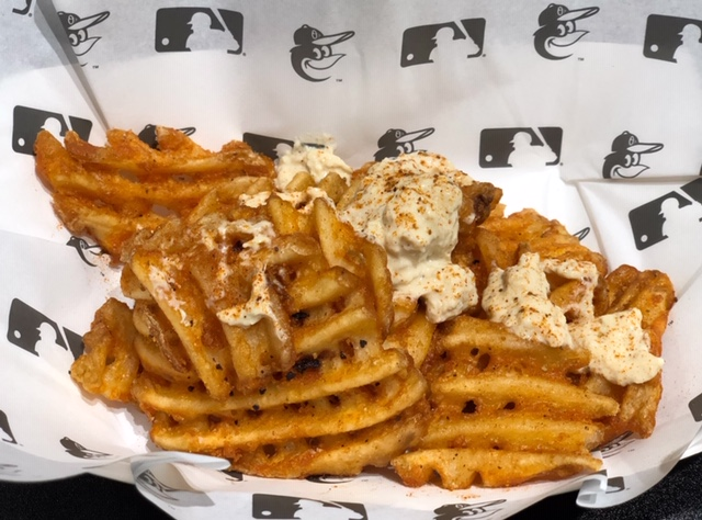 Chesapeake waffle fries - that's what Maryland does.