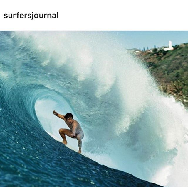 """The Privateer"". @surfersjournal. . . James Jones was one of the most talented and fearless Hawaiian surfers of his generation. . . Issue 28.3, page 74.  Photo: Waimea 1977 @aframephoto"