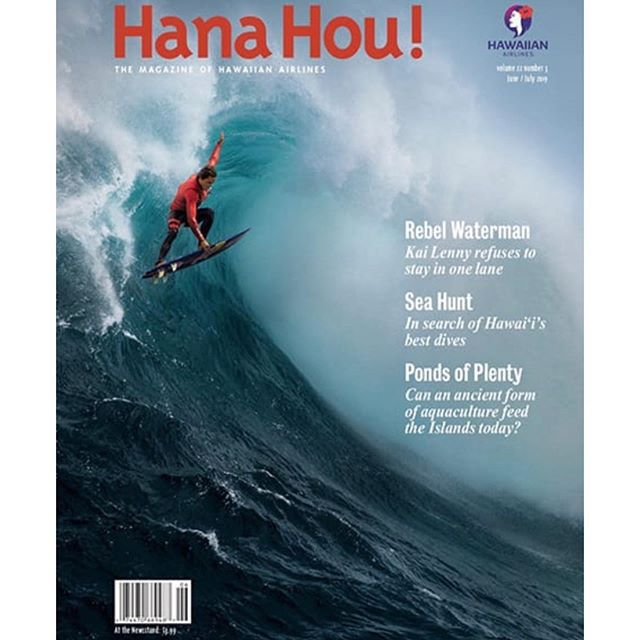 """Rebel Waterman"" @hanahoumag. . . June/July issue. Volume 22. Photo: @mikecoots"