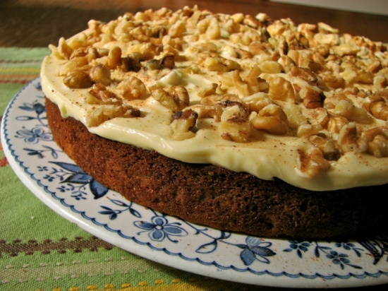 Gluten-Free and Low Sugar Carrot Cake!