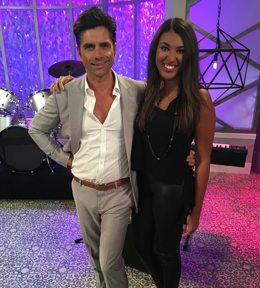 Working with John Stamos on Fuller House