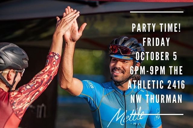 Thank you to all of the racers, volunteers, sponsors, and fans. We couldn't have done it without you. Y'all are fantastic. To celebrate how awesome you are, we're going to have a party. Come join us, collect your winnings, drink some beer, eat some pizza, and hang out.  Friday October 5 6PM-9PM  The Athletic: 2416 NW Thurman St  The awards part of the evening will begin at 7pm so that the kids won't be up past their bedtime and so the folks racing the next morning will have time to digest the pizza.