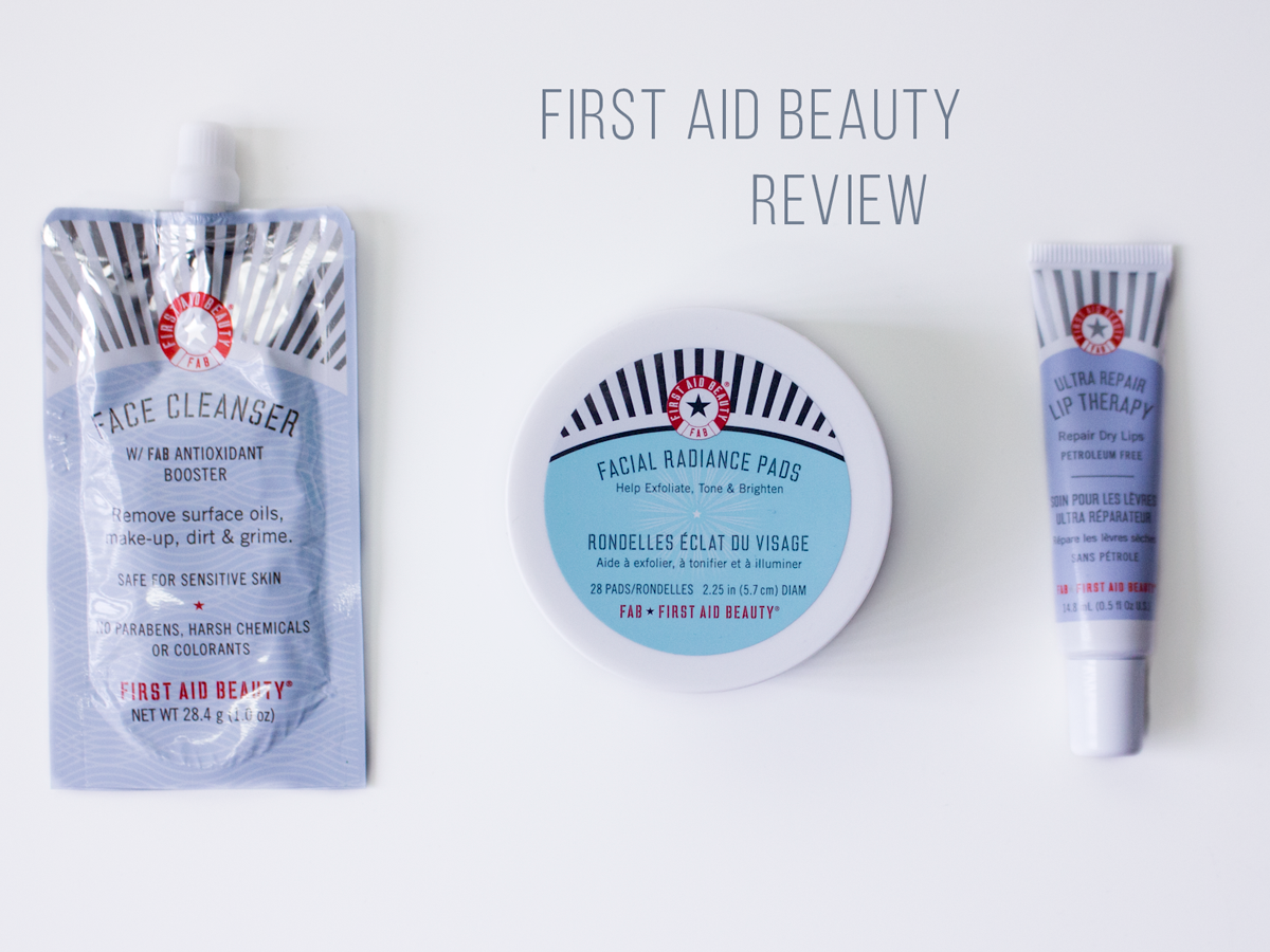 Cruelty-Free Skincare First Aid Beauty Review