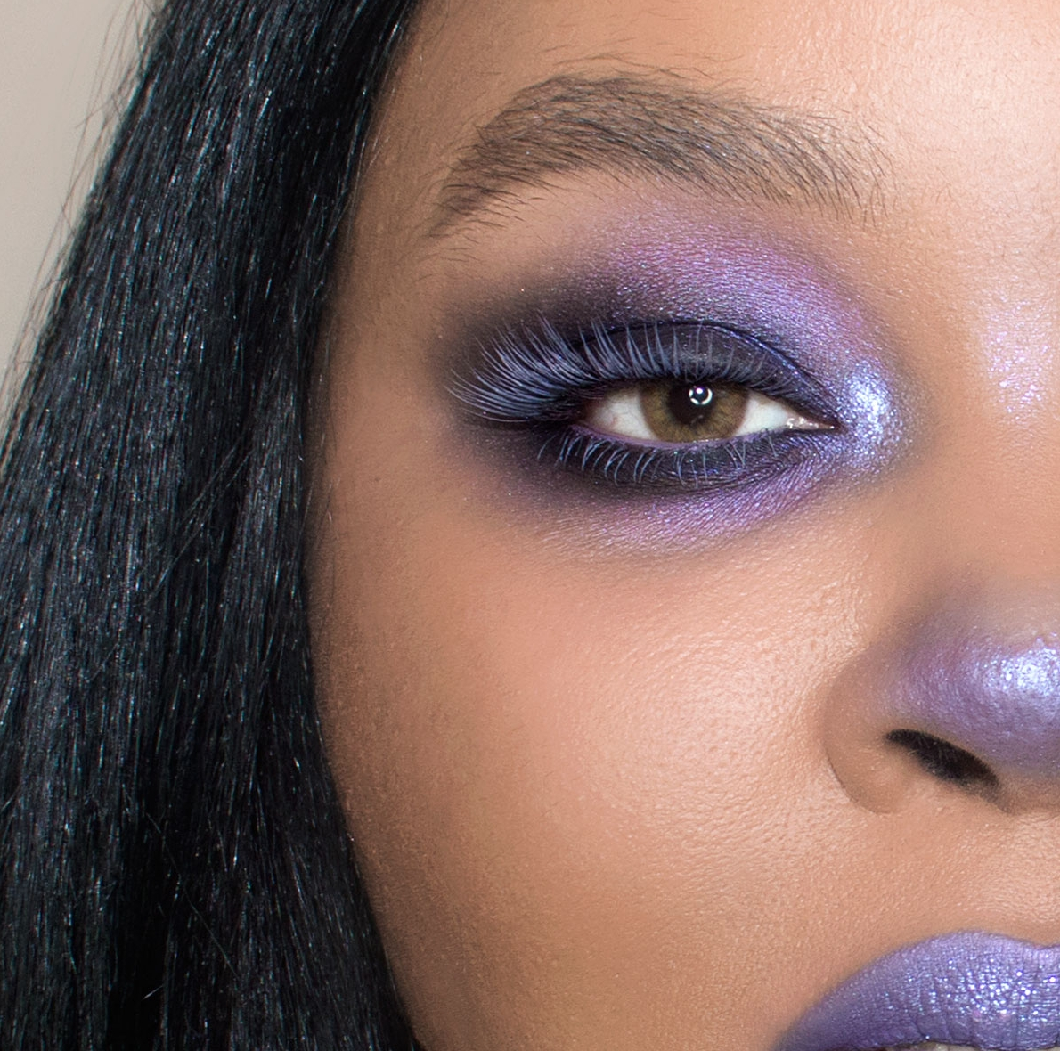 Kat Von D Everlasting Lip Liner Coven, Dramatic Purple Makeup