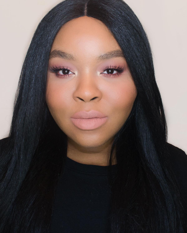 Anastasia Beverly Hills Matte Lipstick Swatch Peachy