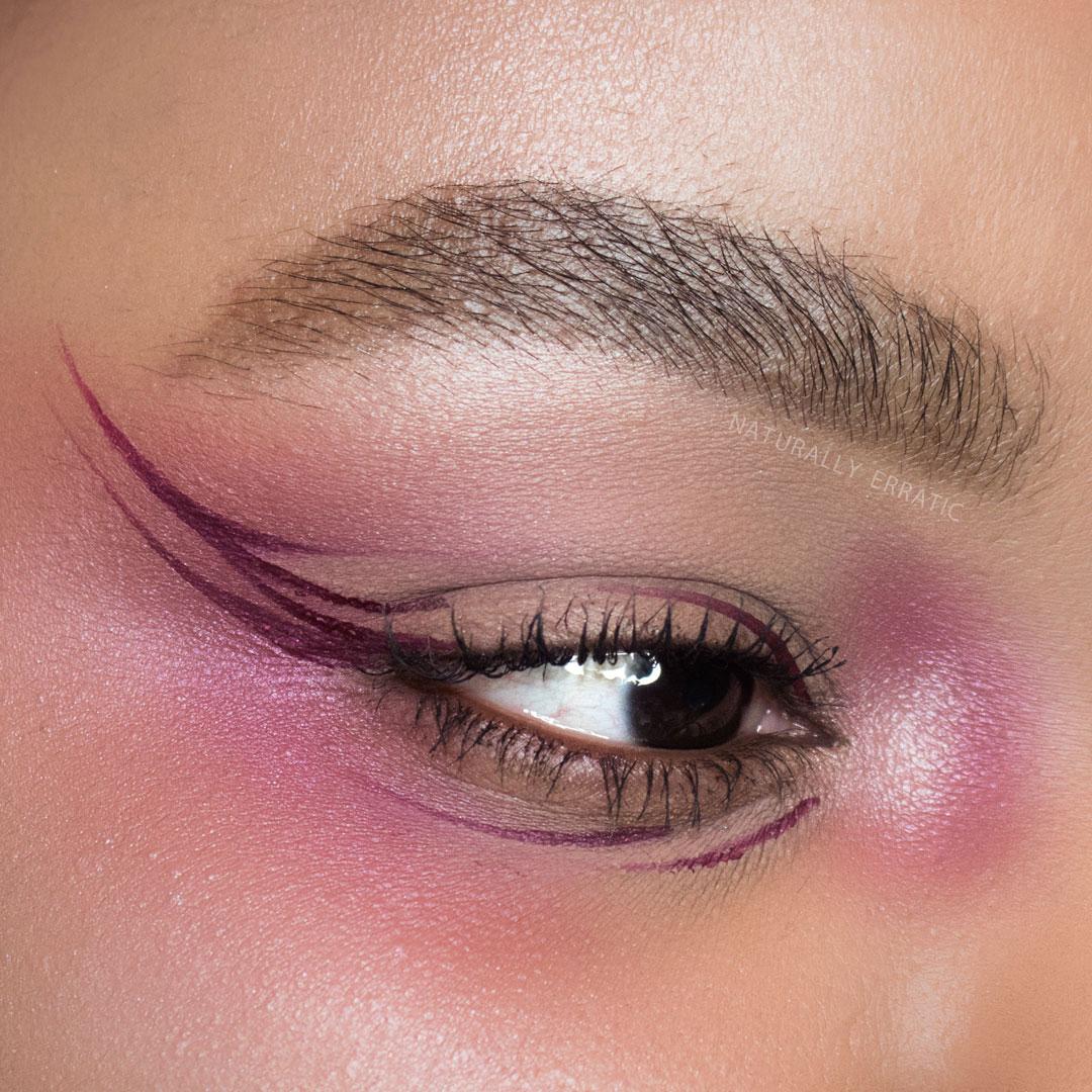 Creative Eyeliner Makeup
