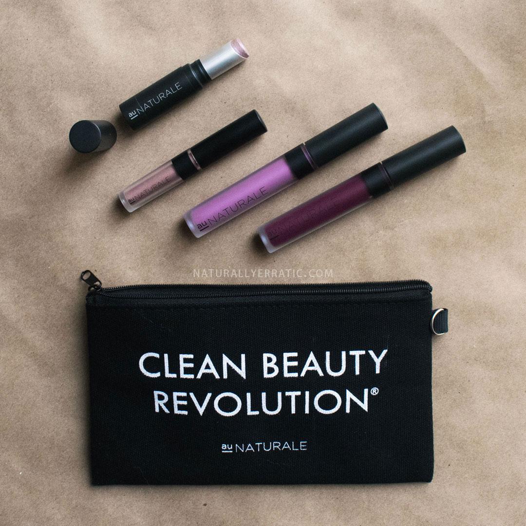 Au Naturale Cosmetics Makeup Review, Vegan Makeup