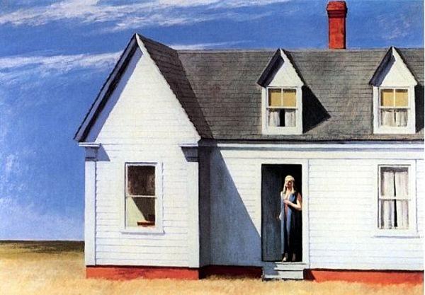 "Edward Hopper, ""High Noon,"" 1949"