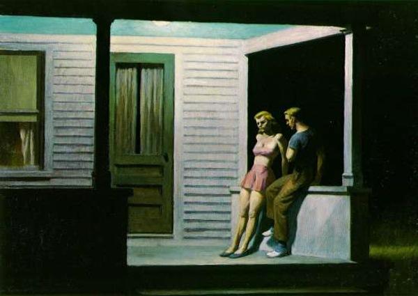 """Edward Hopper, """"Summer Evening,"""" 1947"""