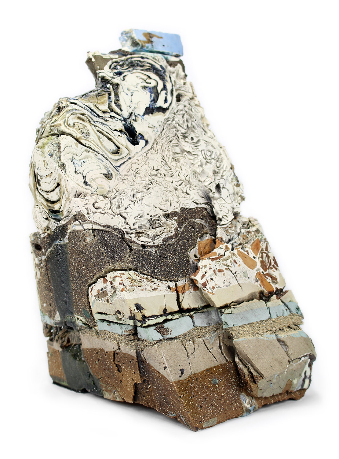 Landfill No.38: Northeastern Cross Section  by Jonathan Mess, 2015