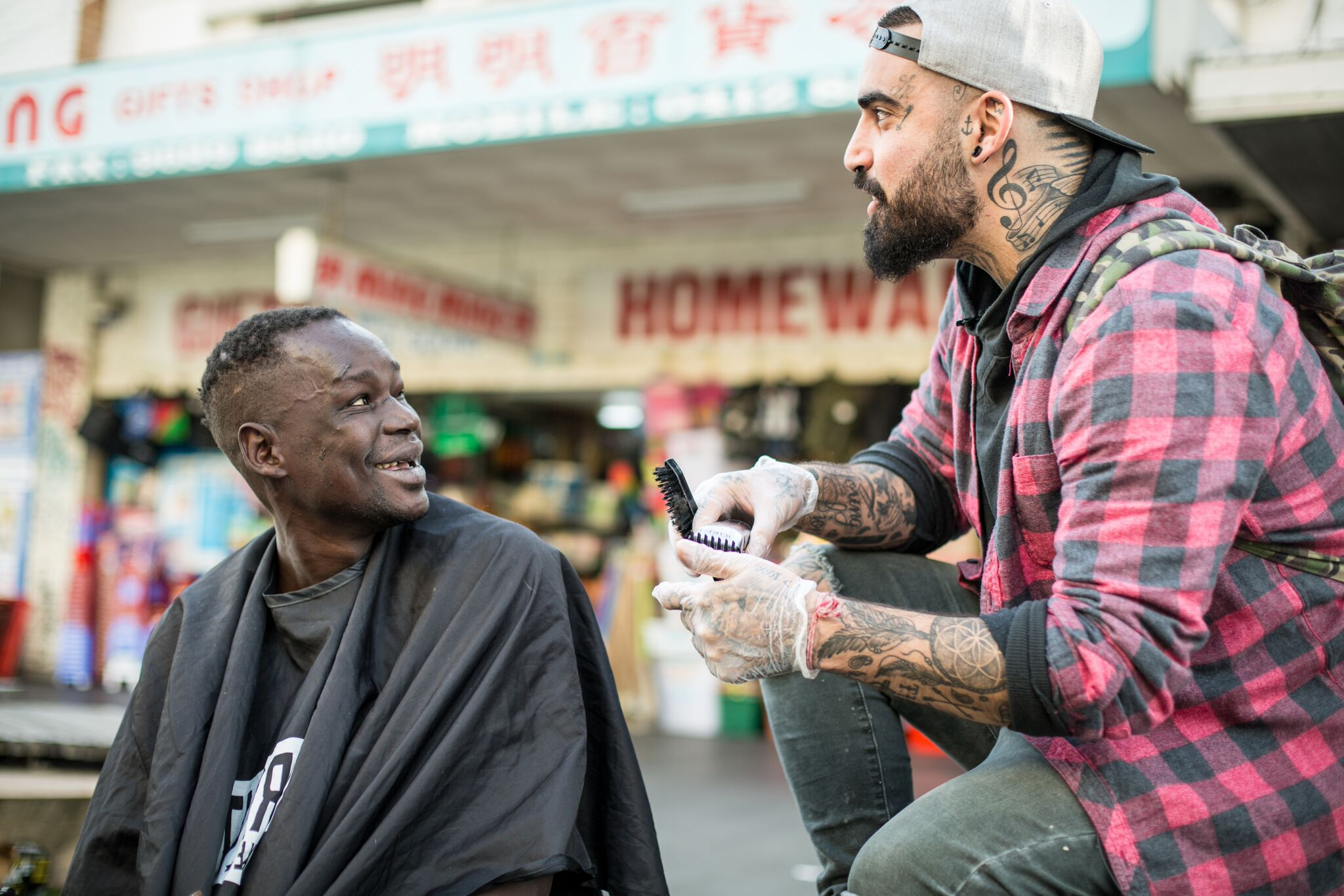 The Streets Barber