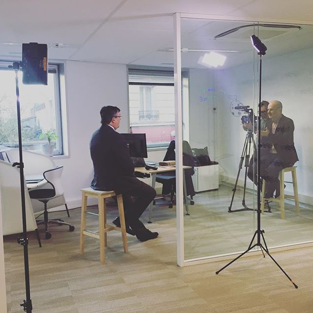 VMWare and OVH making a film on TagPay Inc. 🎬