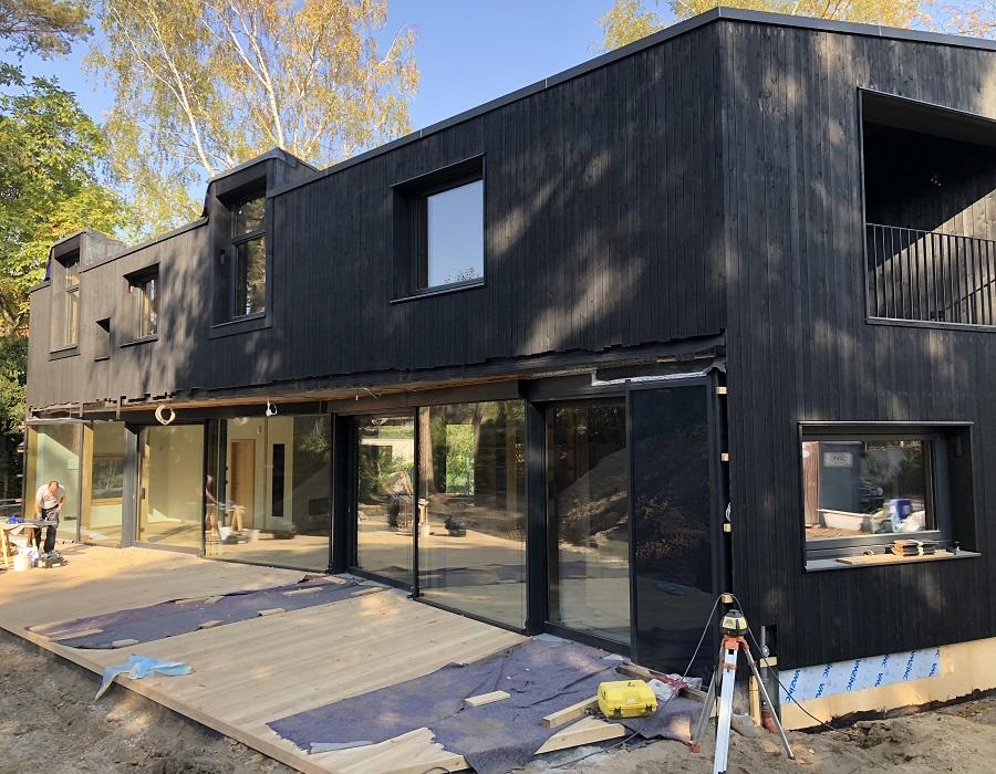 Wohnhaus L - Westfassade (c) Kersten Kopp Architekten GmbH