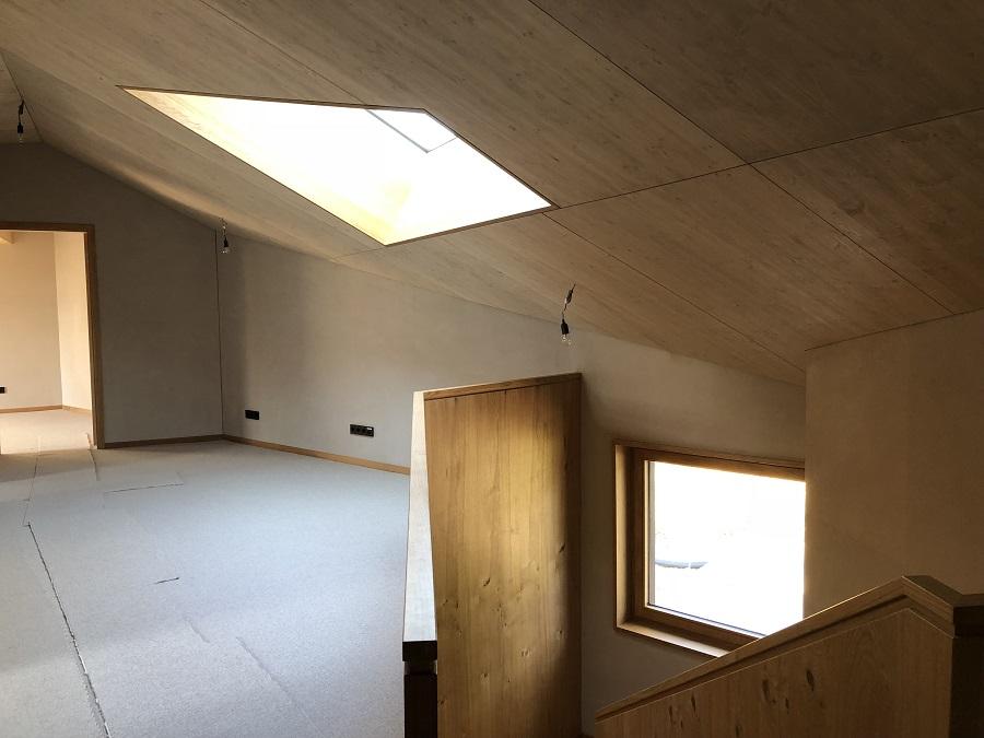 Wohnhaus L - Flur und Treppenaufgang (c) Kersten Kopp Architekten GmbH