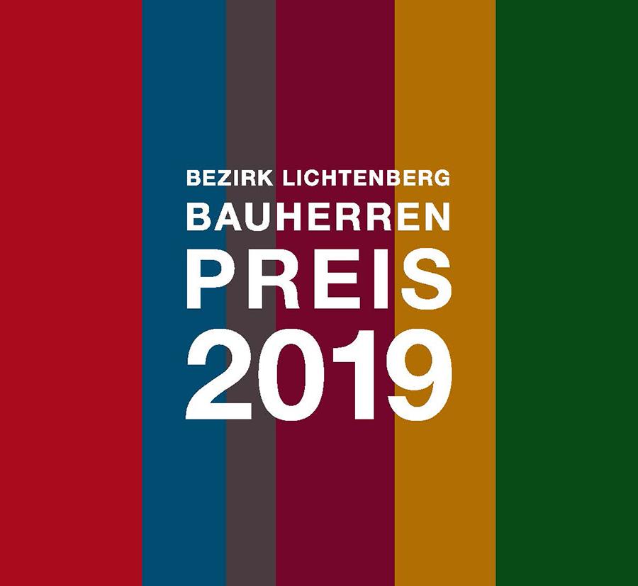 Logo Bezirk Lichtenberg Bauherrenpreis 2019 © Bezirksamt Lichtenberg von Berlin