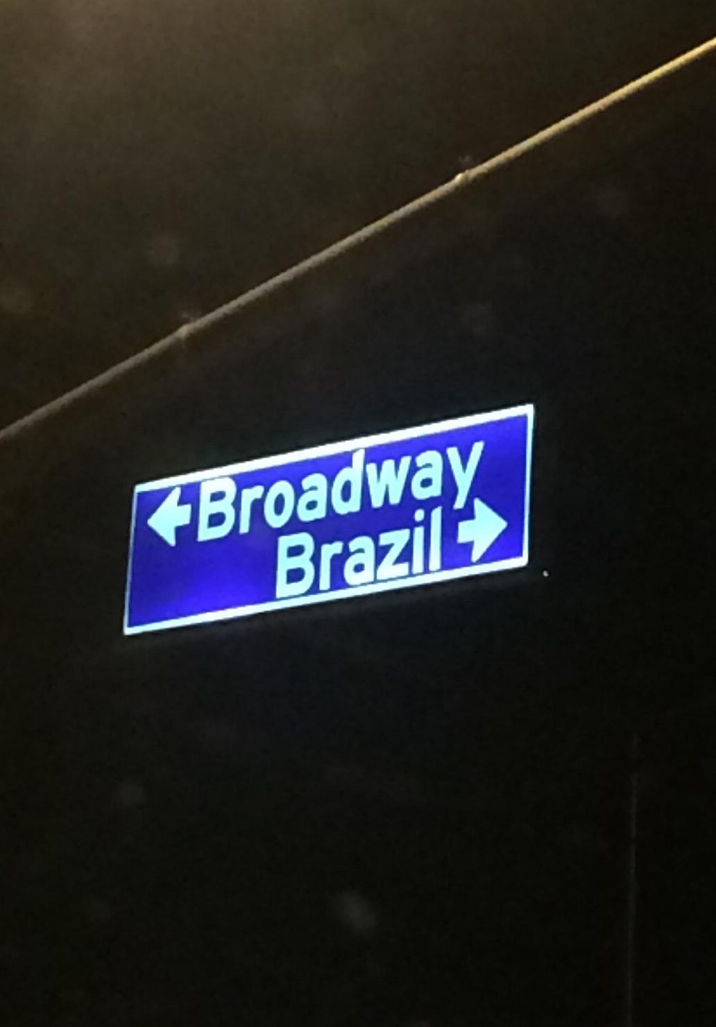 Broadway / Brazil, 2016