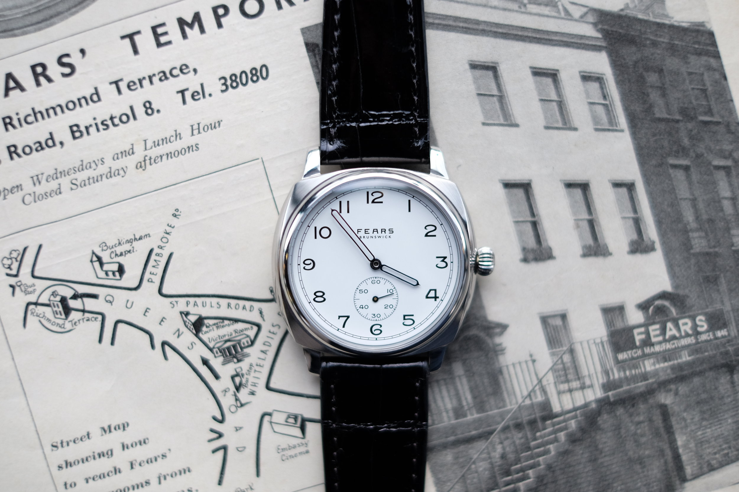 Hodinkee:  Introducing The Fears Brunswick