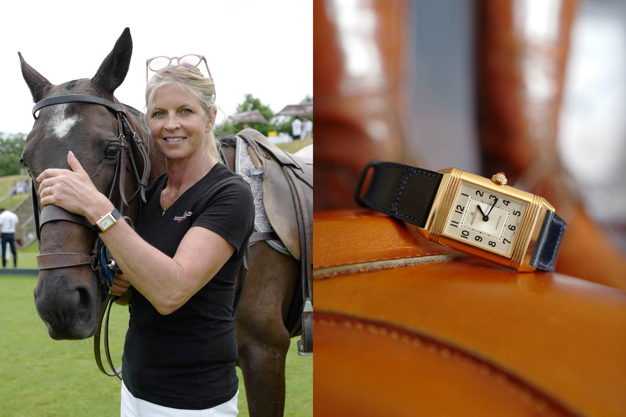Monochrome Watches: She Rocks It:  Marchioness of Milford Haven And Her Unique Jaeger-LeCoultre Reverso