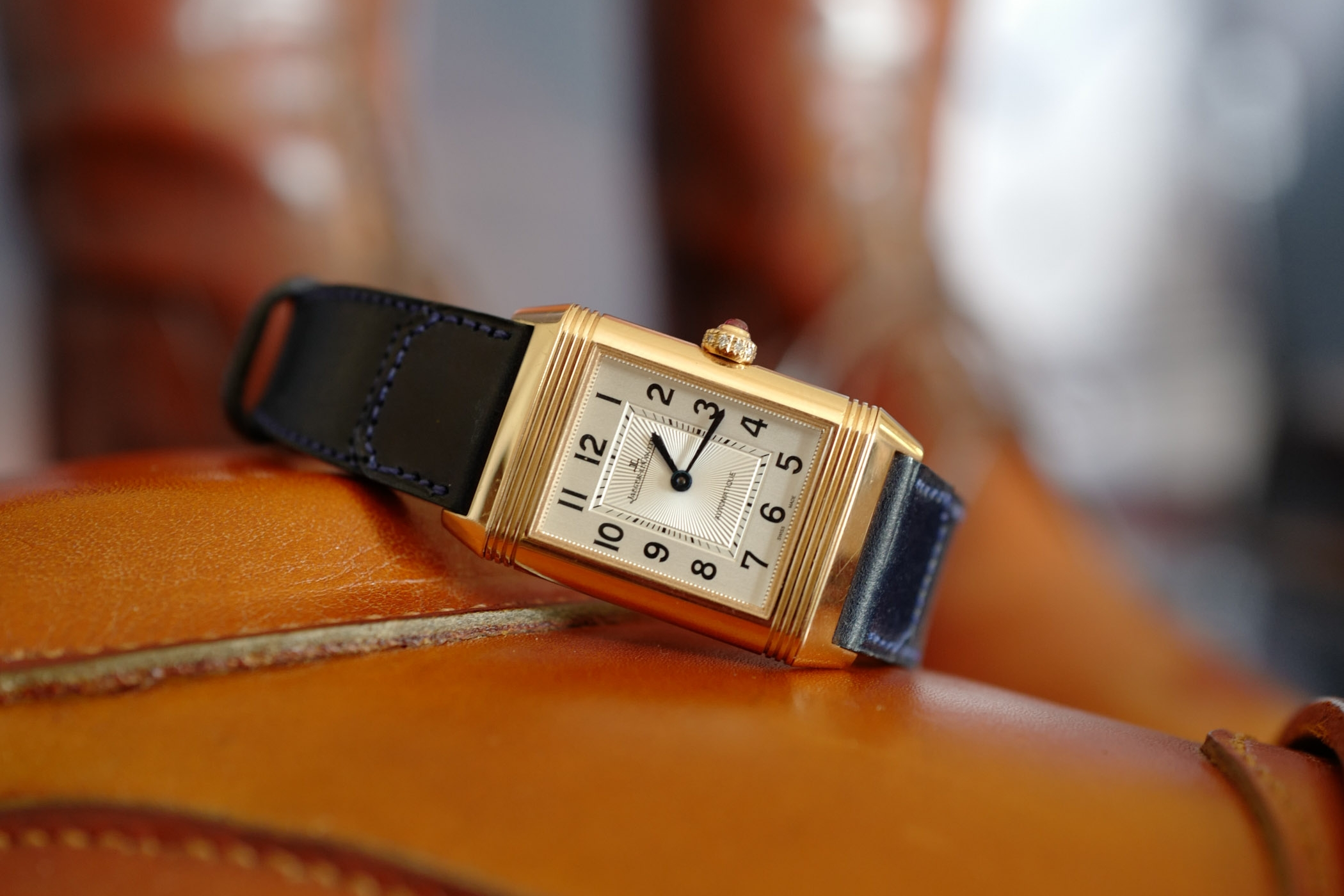 Monochrome Watches:  All You Need To Know: Polo, Clare Mountbatten and Jaeger-LeCoultre Reverso