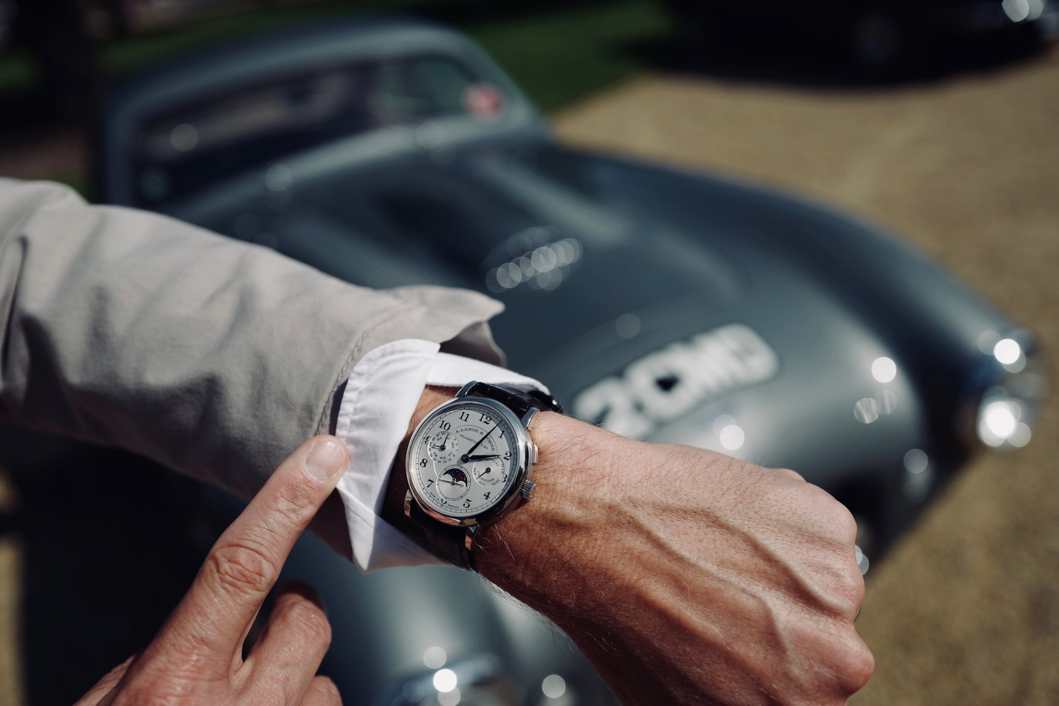 Monochrome Watches:  Event A. Lange & Söhne at Concours of Elegance, An Interview with CEO Wilhelm Schmid