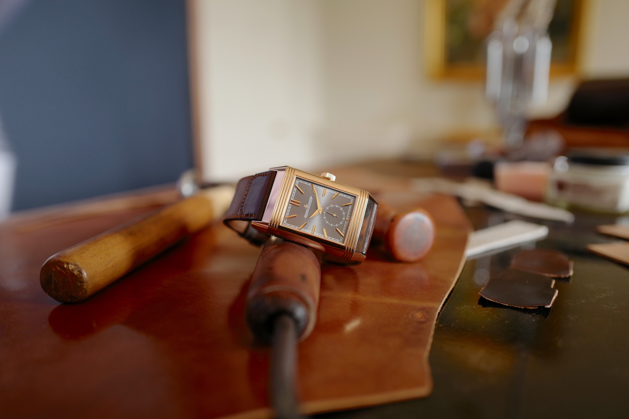 Monochrome Watches:  Meet The Makers Famous Bootmaker Casa Fagliano Makes Straps for Jaeger-LeCoultre