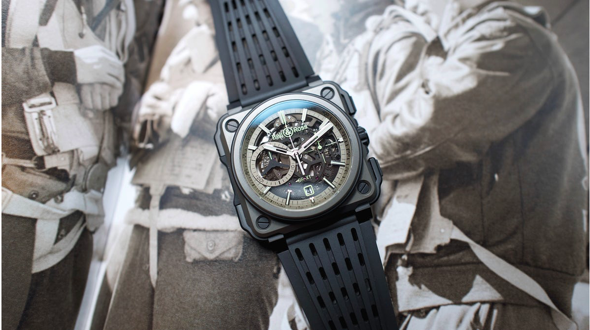 HODINKEE:  Introducing The Bell & Ross BR-X1 Military (Live Pics & Pricing)