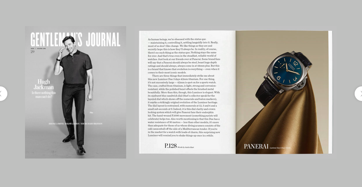 The Gentleman's Journal:  The Fabric of Time: Our favourite watches of the moment