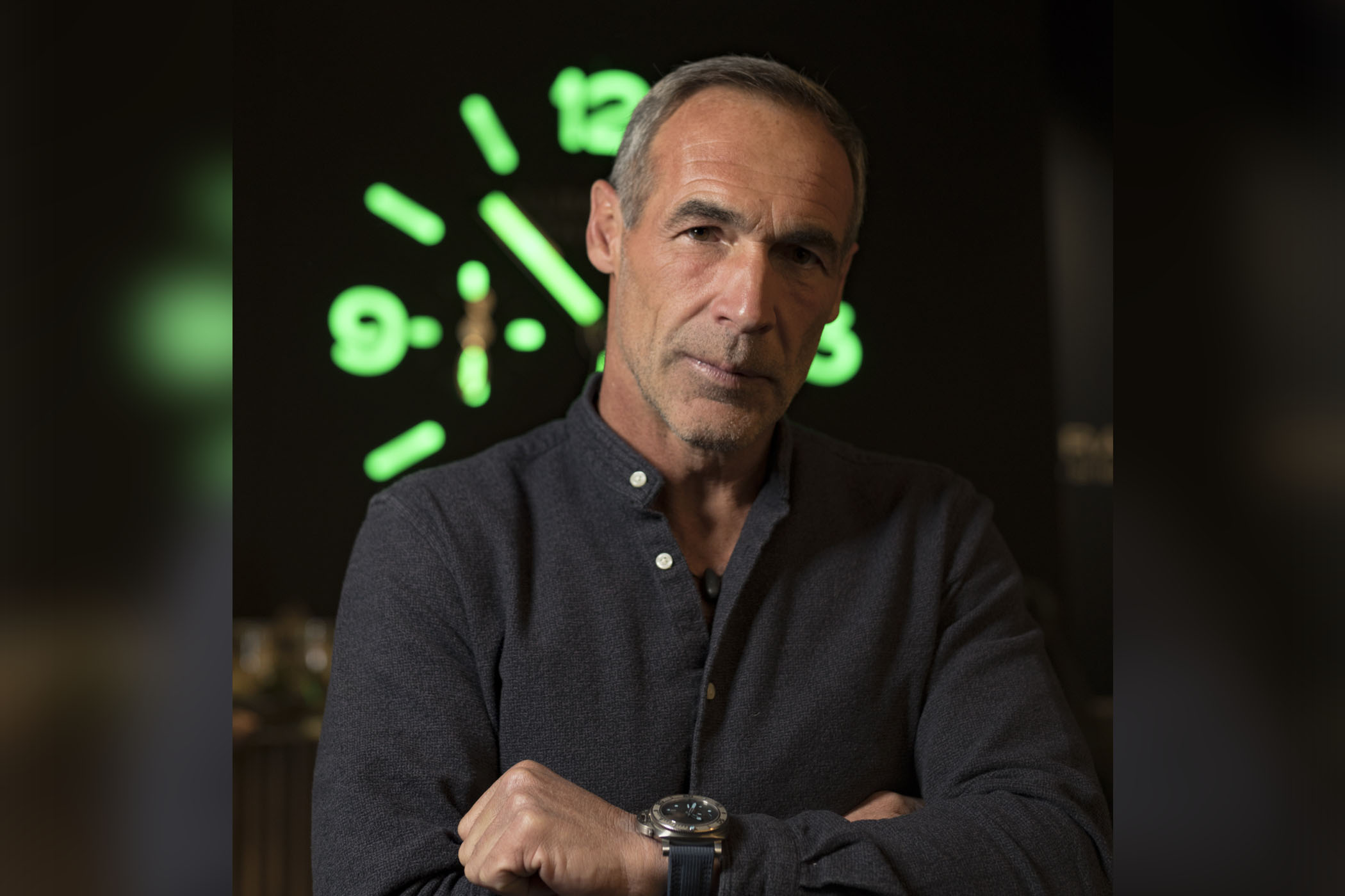 Monochrome Watches:   Interview In Conversation with Mike Horn, Explorer & Panerai Ambassador, during SIHH 2019