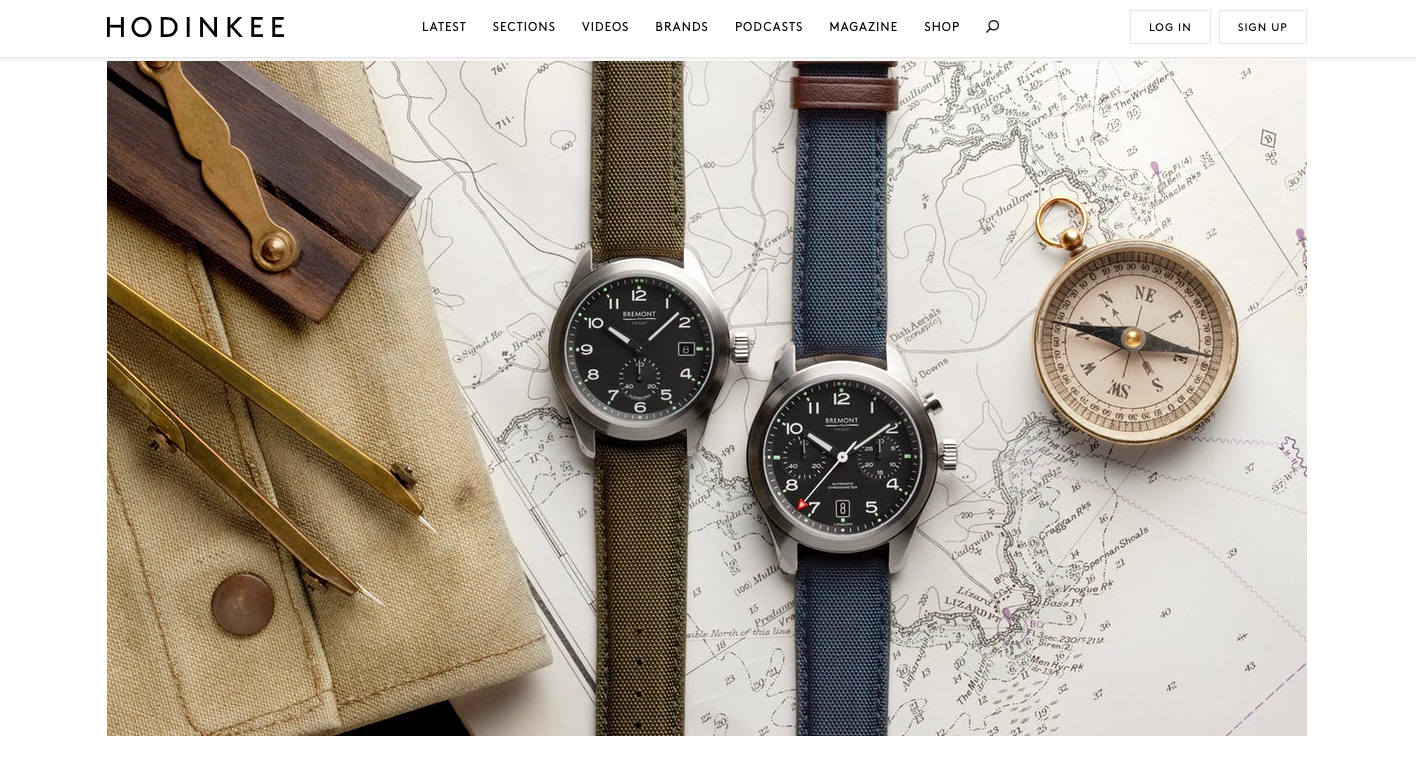 HODINKEE:  Introducing The Bremont Ministry Of Defense Collection