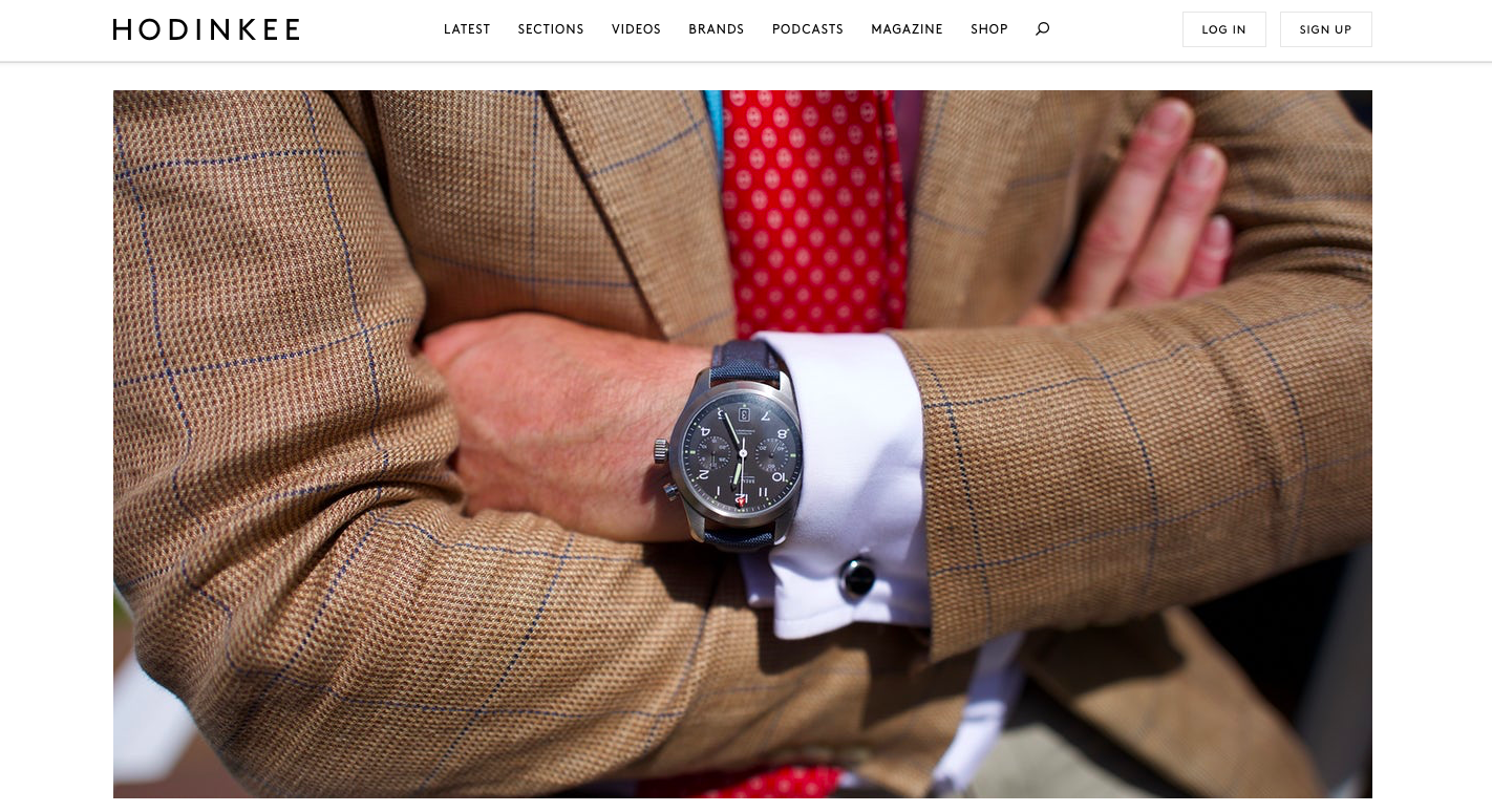 HODINKEE:  Photo Report The Fashion And Watches Of Henley Royal Regatta 2019