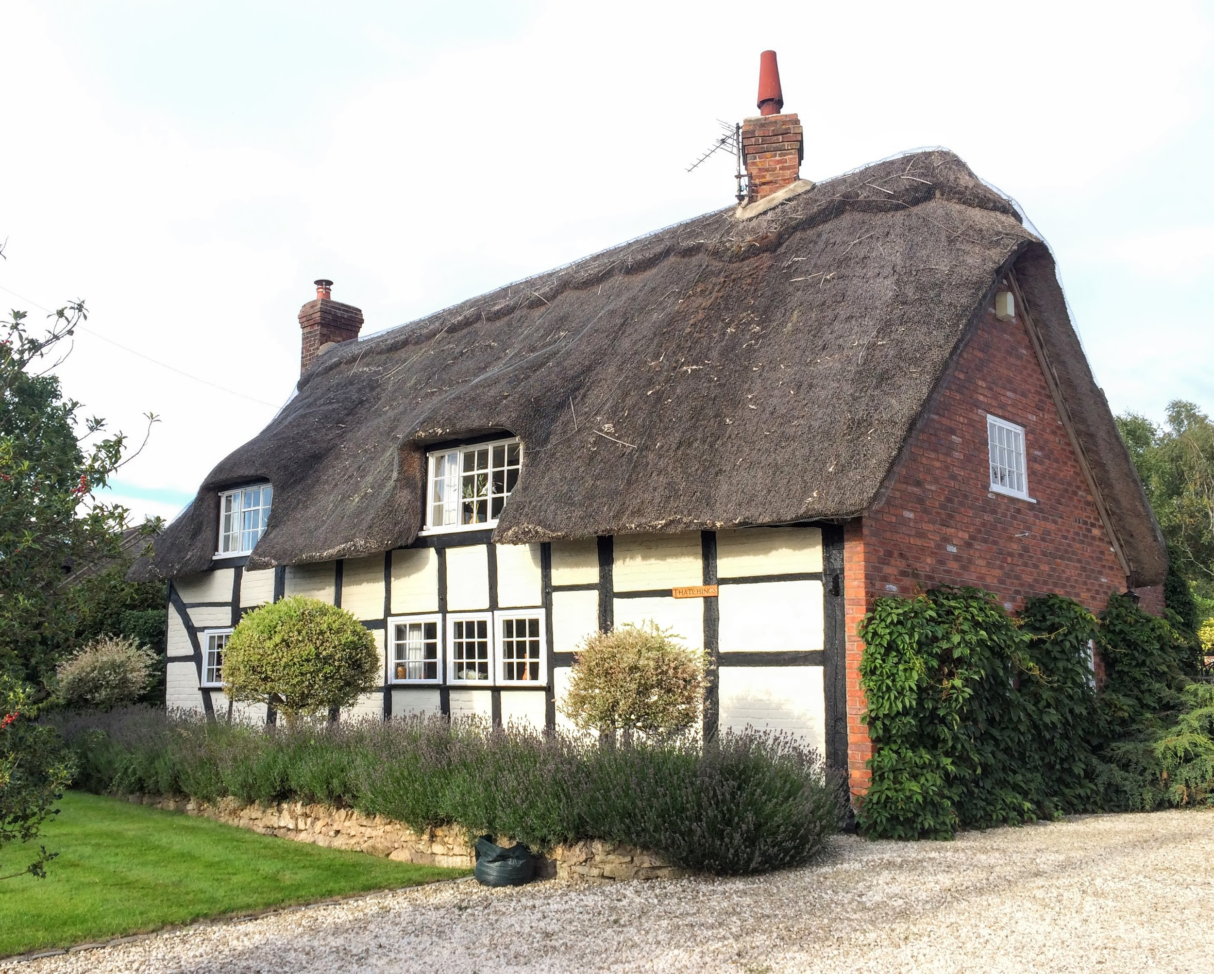 "A wonderful example of a ""Cruck"" cottage"