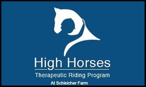 High Horses Therapeutic Riding Programs  PO Box 278 Sharon, VT 05655 w:  www.highhorses.org  e: program@highhorses.org