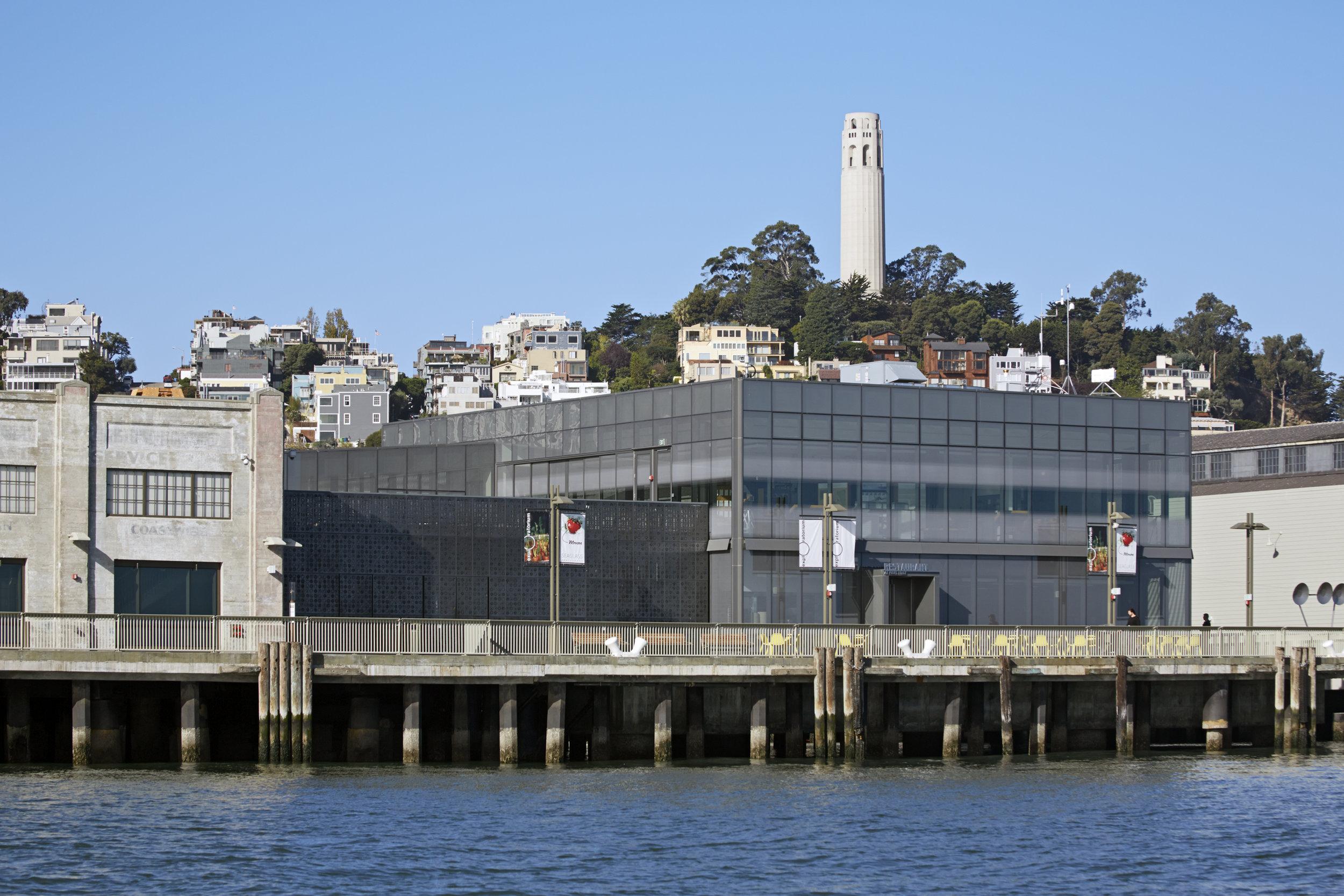 Observatory of Exploratorium, San Francisco. Image courtesy of Exploratorium, copyright Bruce Damonte