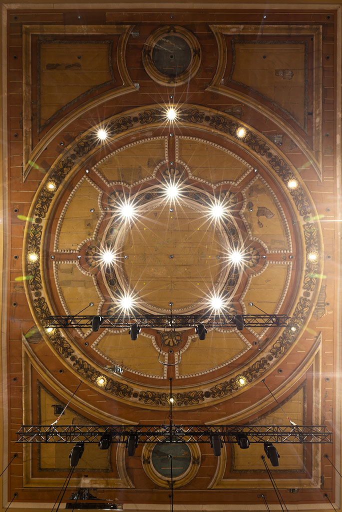 Alexandra Palace Theatre Ceiling Rose