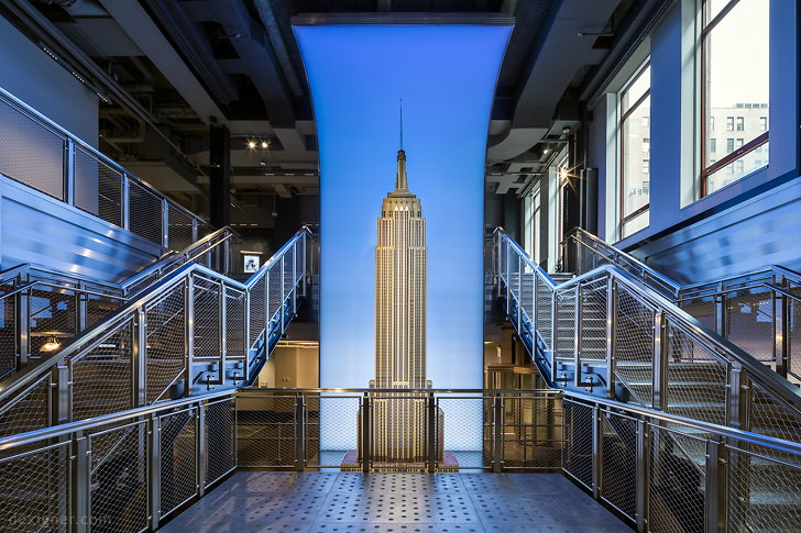 This all new 18,000 square-foot 34th Street entry to the Empire State Building is the first installment of a spectacular reimagining of the Observatory that introduces new experiences for visitors seeking its singular views of New York. Thinc Design is the Experience Designer for the reimagined Observatory, The new and expanded entrance graciously accommodates increasing visitation to the ESB, already in excess of four million people each year.