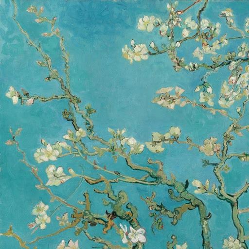 'Amandelbloesem' - Vincent van Gogh, 1890 (detail)
