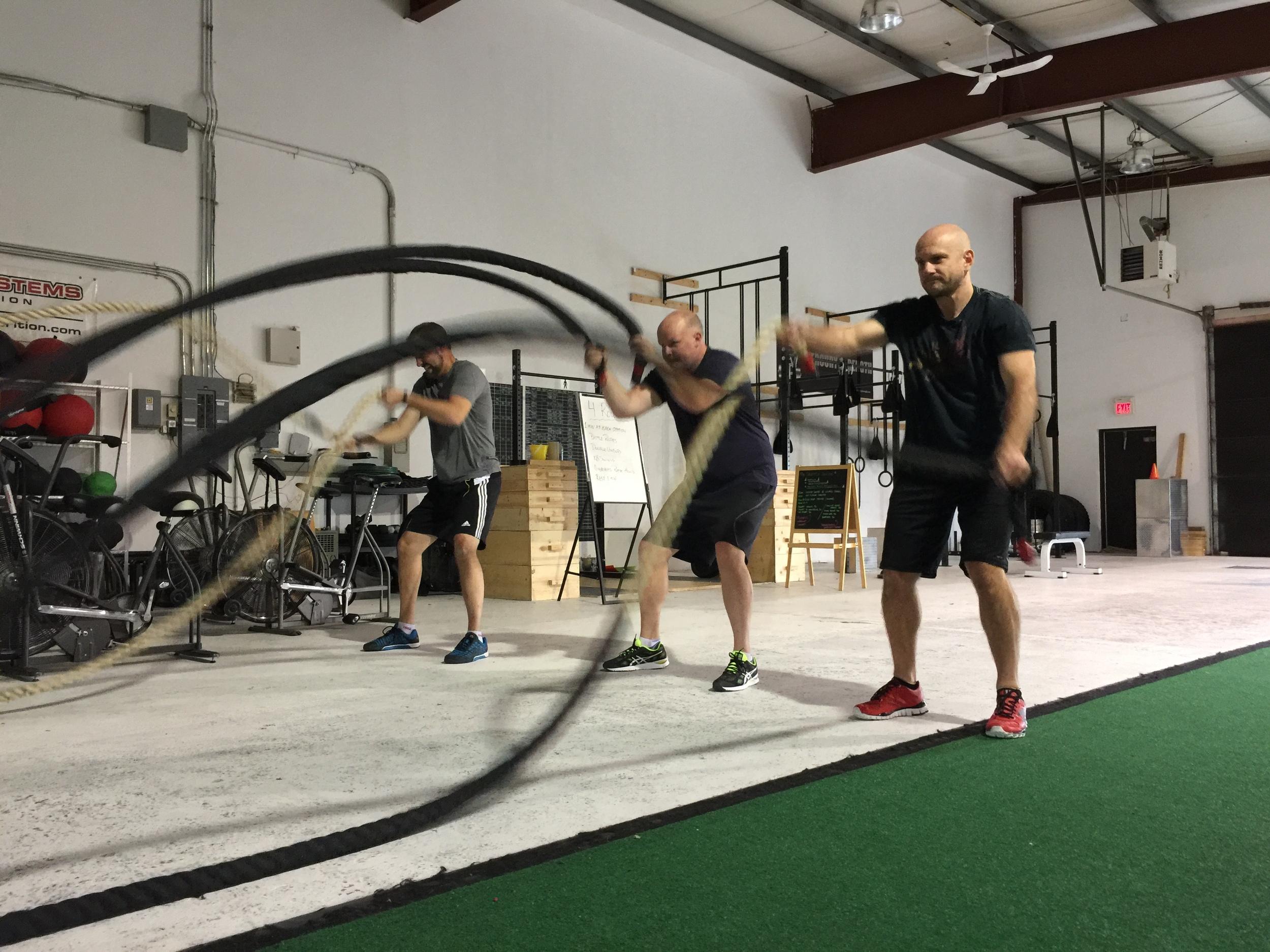 gym-fitness-training-bootcamp-kingston-battle rope