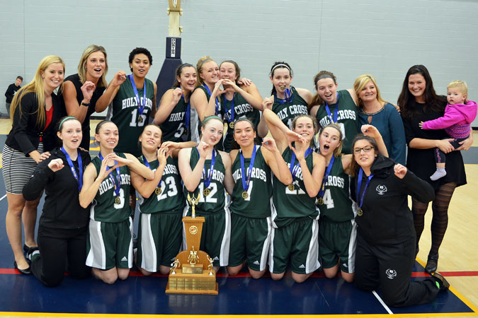 Good luck to Sydney, Mary, and all of the other young ladies at Holy Cross Secondary this weekend in Windsor for the Senior Girls Basketball OFSAA Championships! We are all rooting for you!