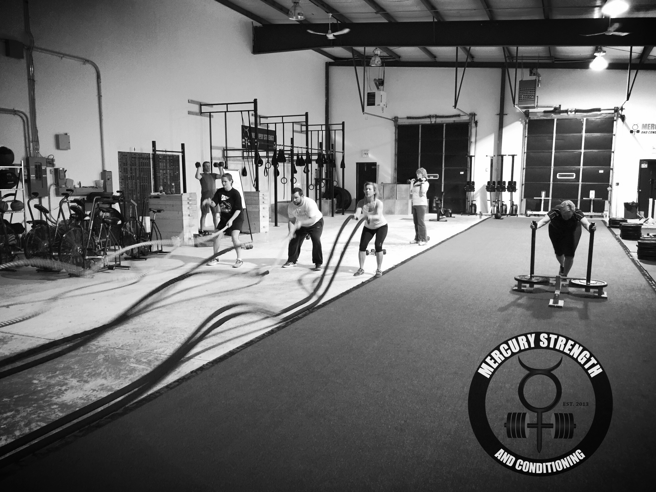 06:30 class burning out the shoulders. What do you do if you have a shoulder injury? You do Tabata with the prowler.