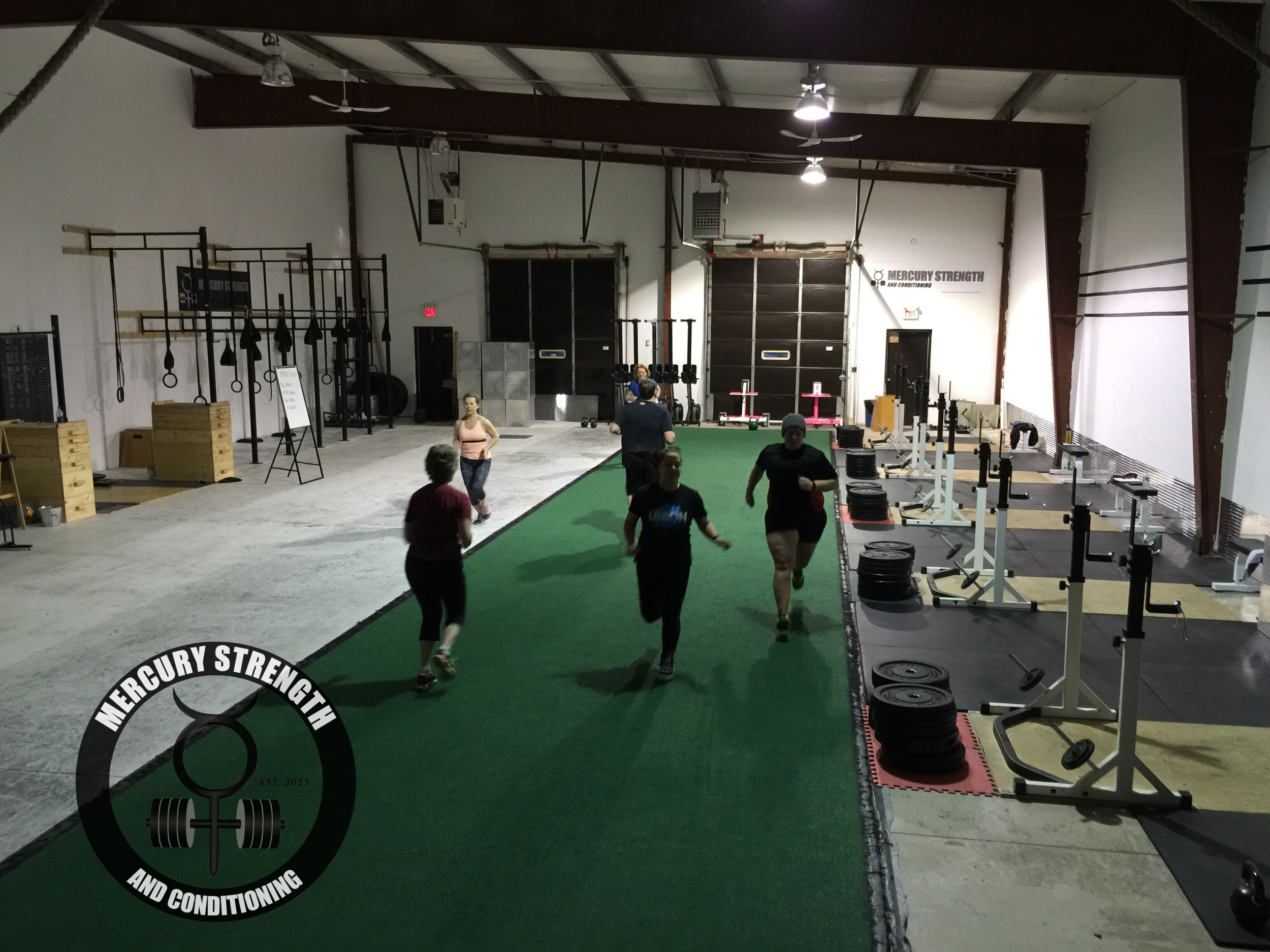 06:30 crew busting out some sprint in the earl morning hours!