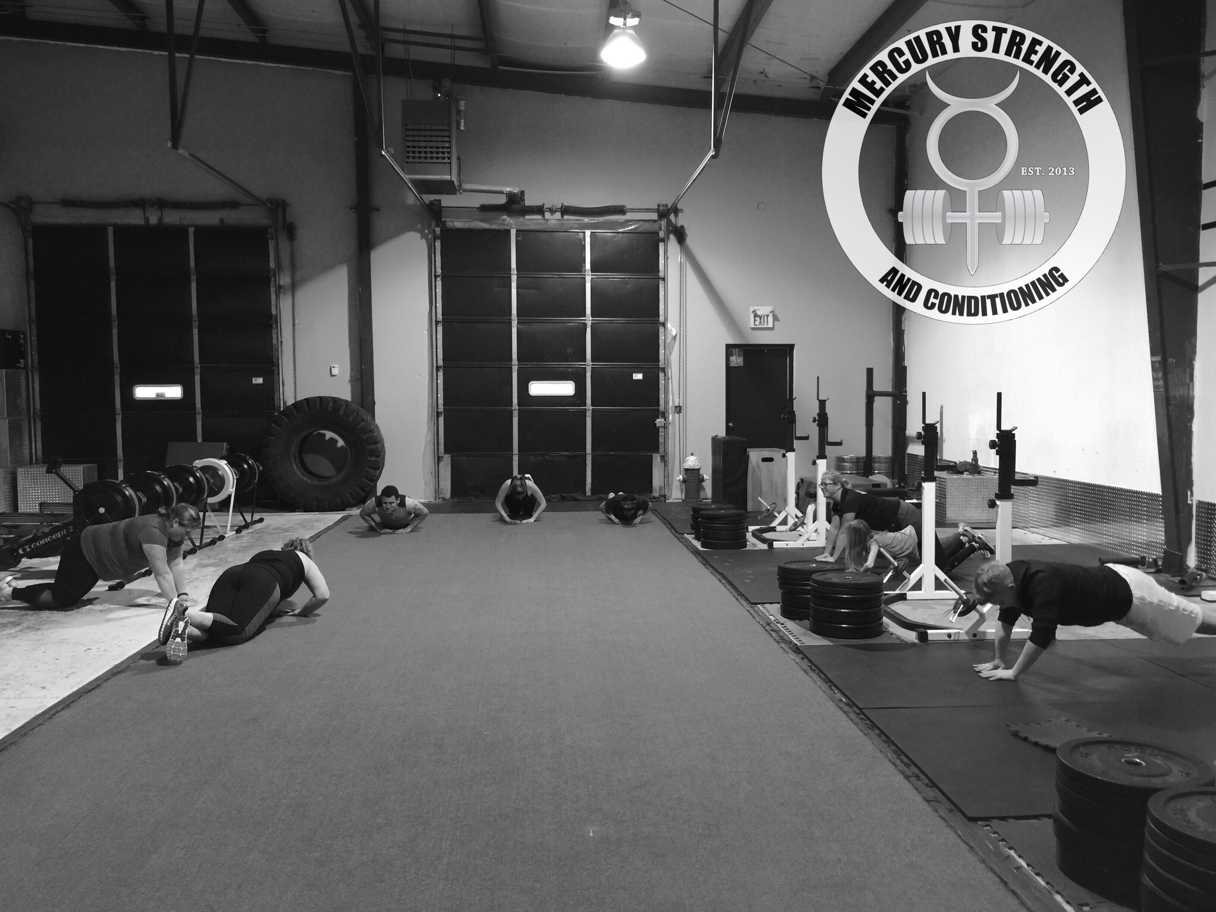 A bust 16:45 session starting the workout off with some diamond push-ups