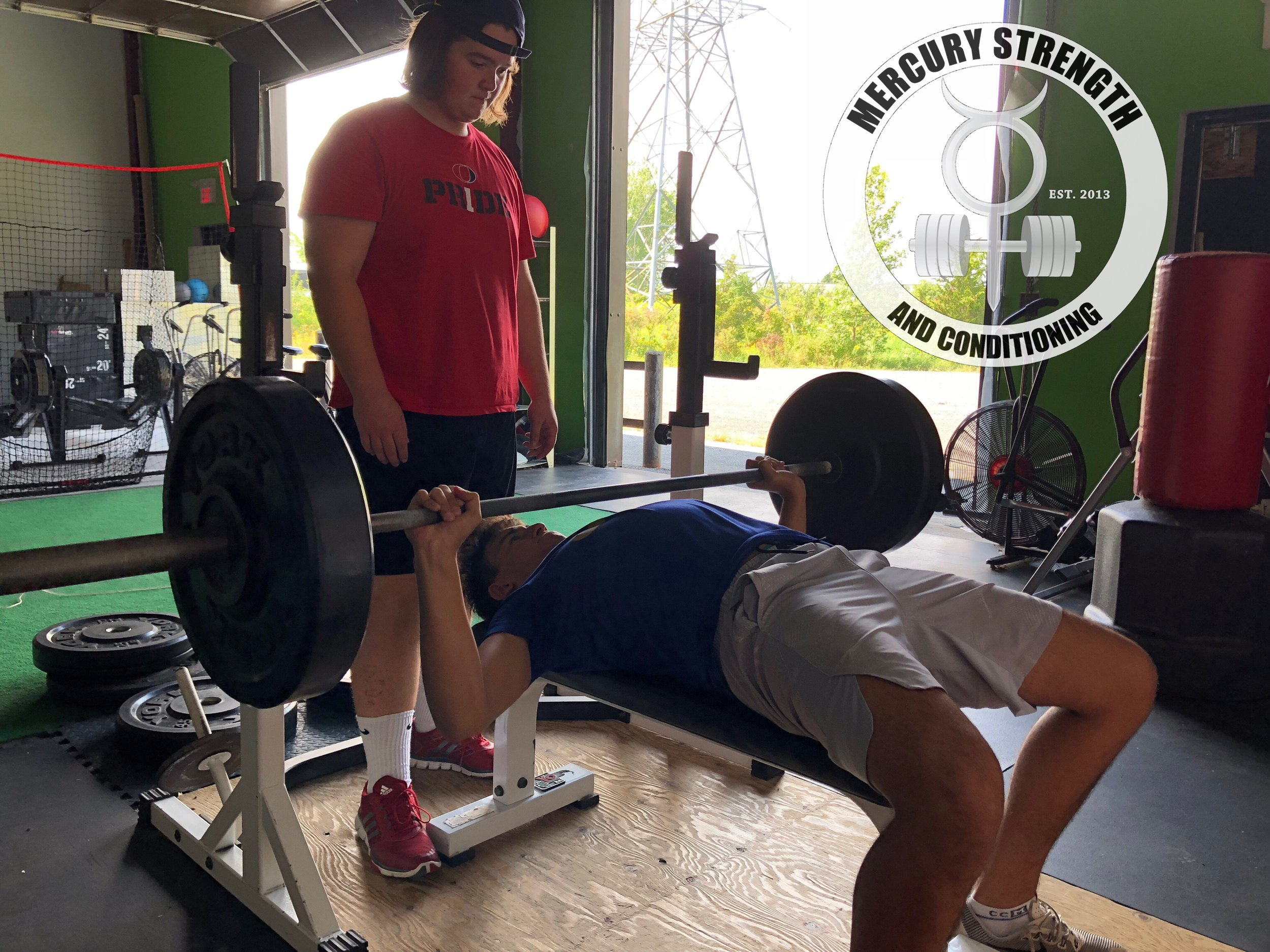 Gym-powerlifting-Olympic lifting-fitness-personal training-training-bootcamp-crossfit-kingston-kingston gym-kids-mercury-strength-conditioning-athlete-bench press