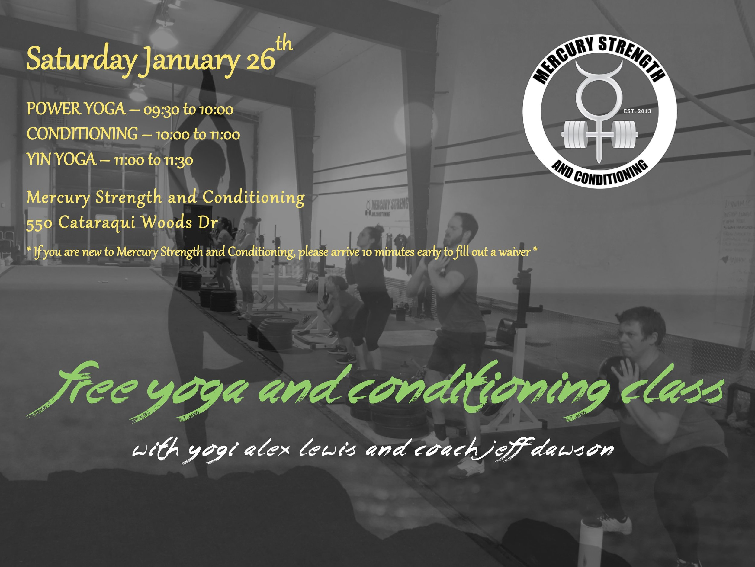 THIS SATURDAY! TWO WORLDS COLLIDE FOR ONE GREAT WORKOUT!