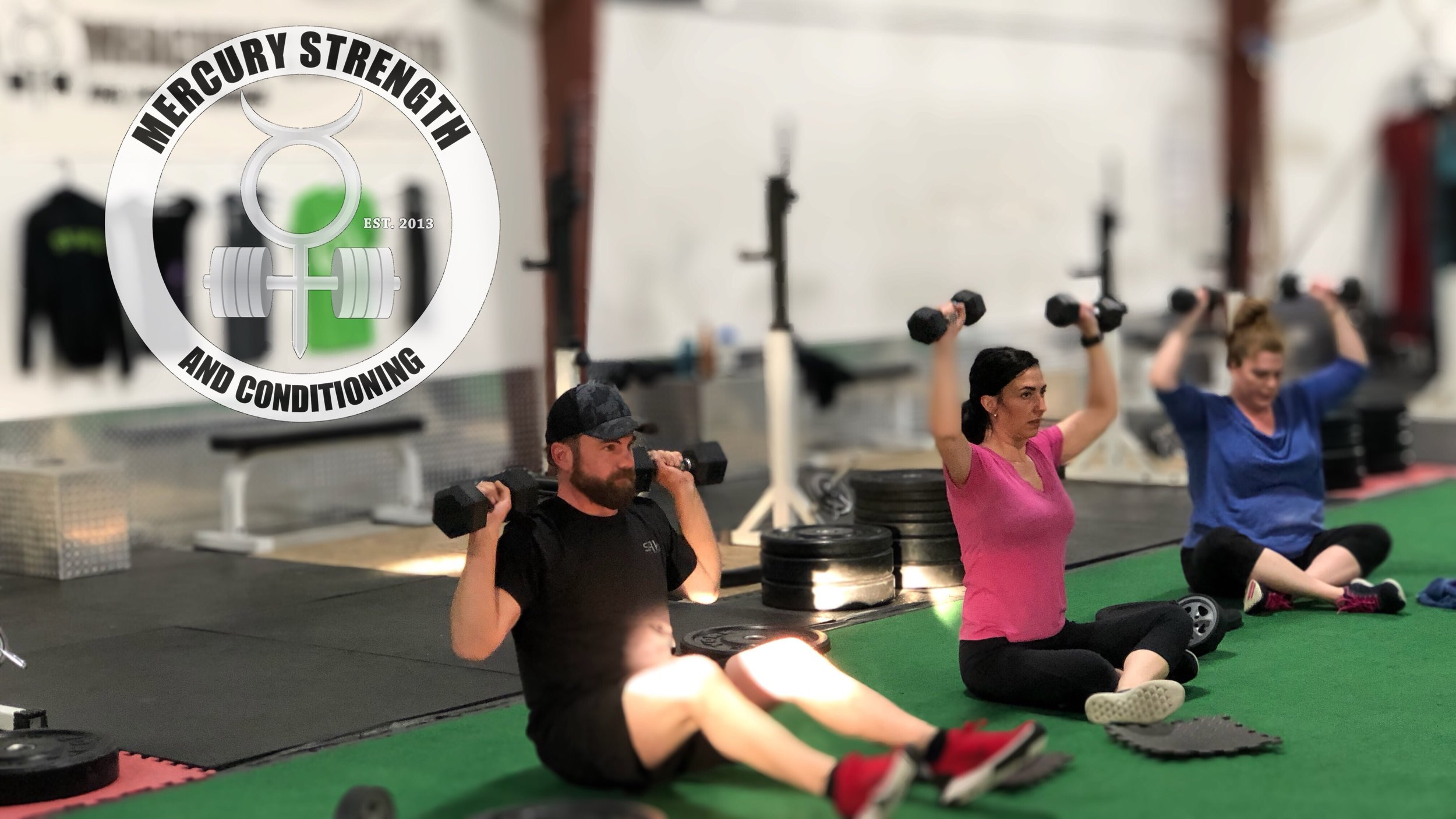 Family and friends train together to build stronger bonds!