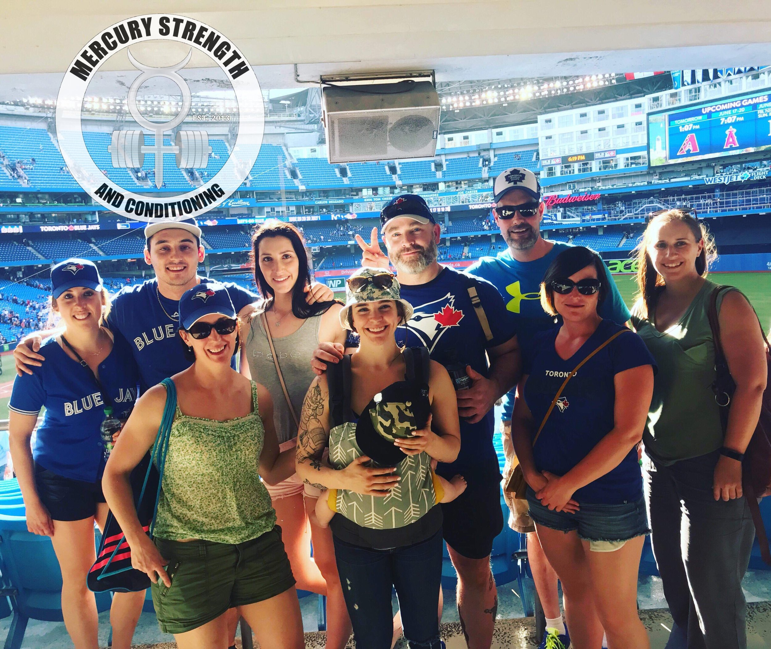 Great time at the jays game this past Saturday with a great crew! More fun excursions are on the horizon!