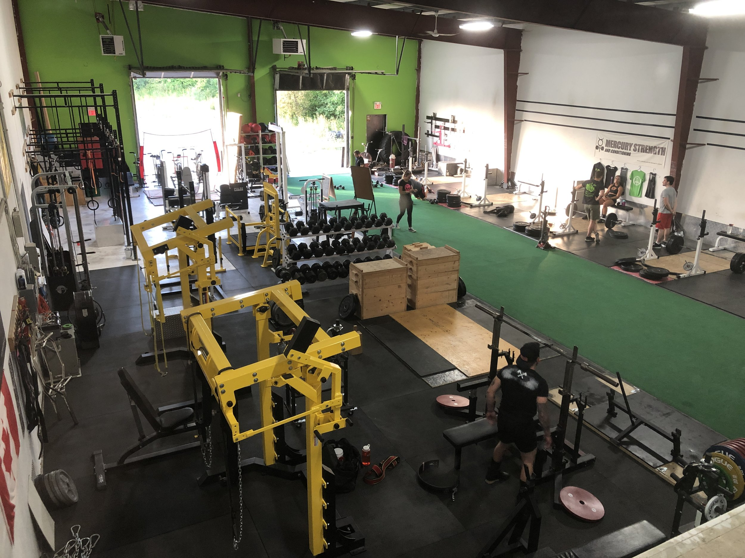 Mercury Strength's new set up!